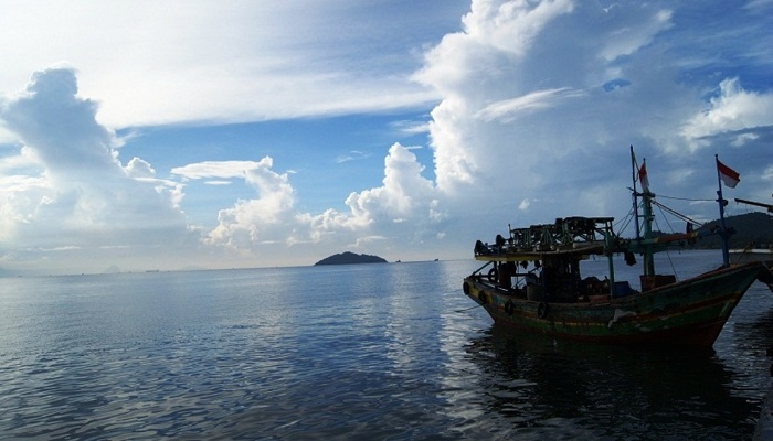 Memancing di Pulau Kubur Bandar Lampung
