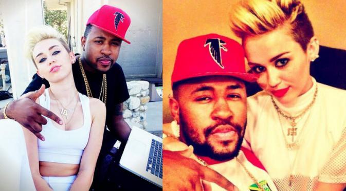 Inikah Pacar Baru Miley Cyrus?