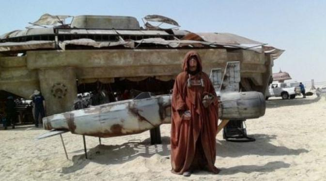 Begini Suasana Syuting Star Wars Episode VII