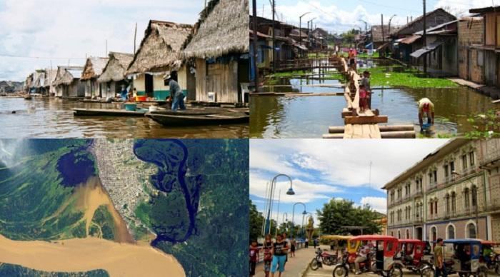 Iquitos, Kota di Lembah Sungai Amazon