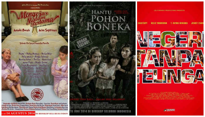 3 Film Indonesia yang Rilis Barengan Bulan Agustus Ini