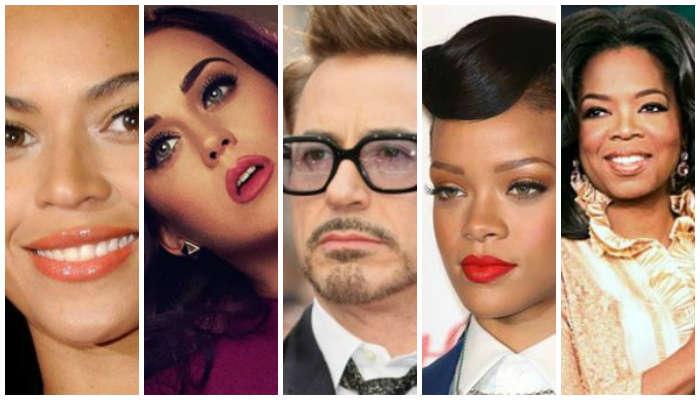 5 Seleb Hollywood Paling Berpengaruh Tahun 2014