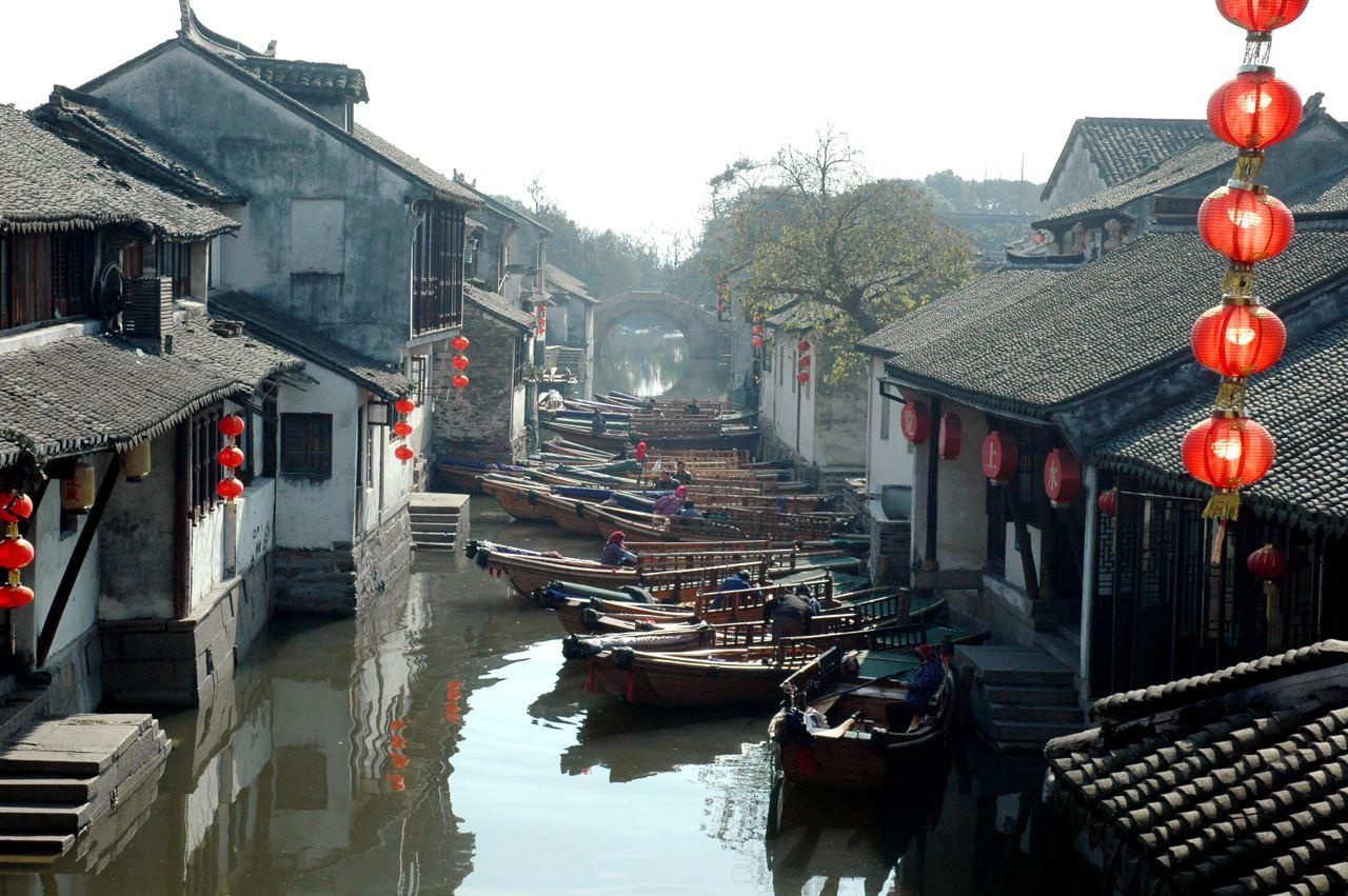 Zhozhuang, Kota Terapung di Tiongkok