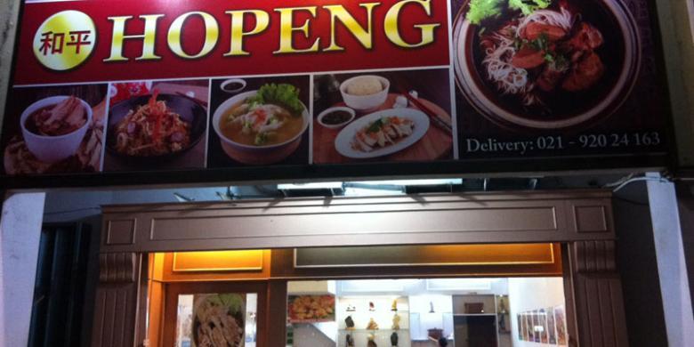 Restoran Hopeng Hadirkan Makanan untuk Lansia