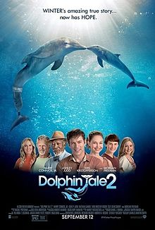 Poster film Dolphin Tale 2