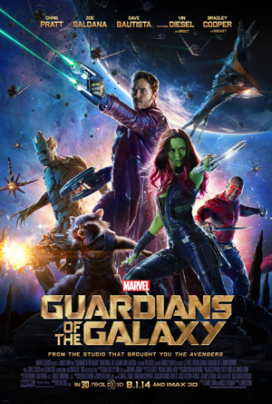 Poster film Guardians of the Galaxy