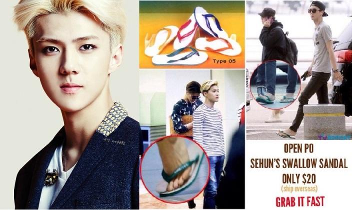 Dipakai Sehun EXO, Sandal Jepit Indonesia Jadi Trend