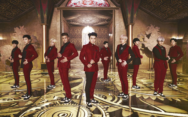 Mamacita Antarkan Suju ke Puncak Chart Musik Asia
