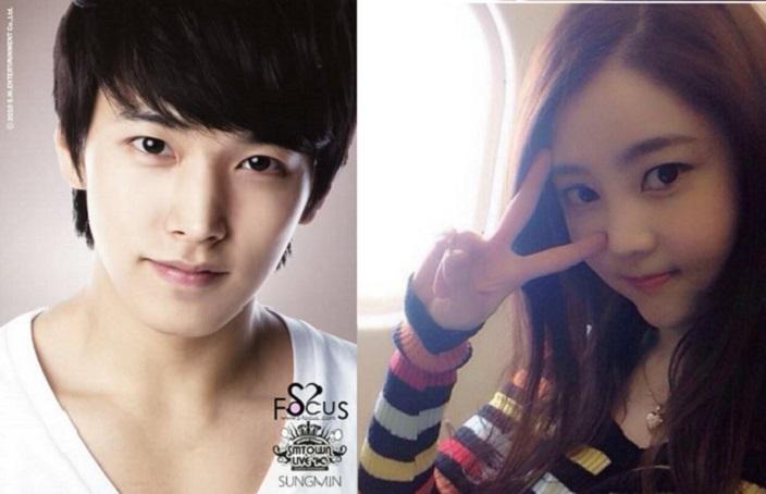 Sungmin Super Junior-Kim Sa Eun Resmi Pacaran