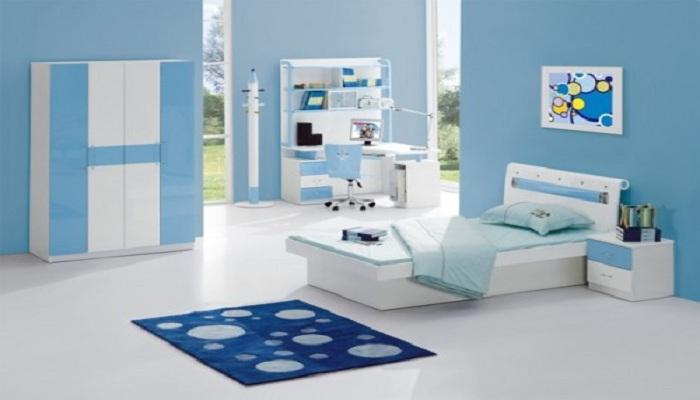 Kamar Warna Biru Bikin Tidur Lebih Nyenyak