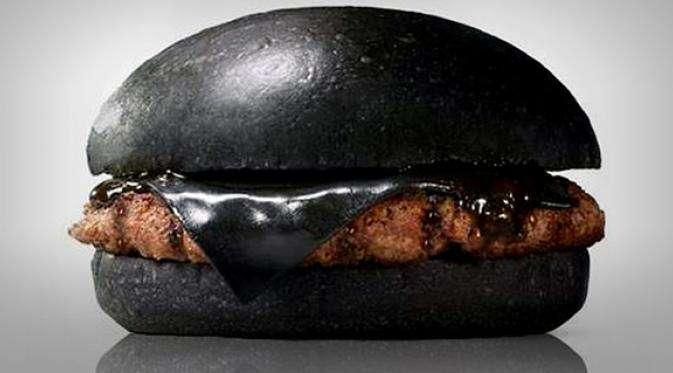 Kuro Diamond, Burger Hitam khas Jepang