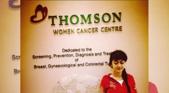 Foto Jupe di depan Thomson Women Cancer Centre