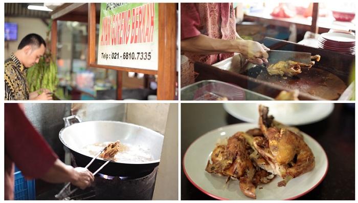Ayam Goreng Berkah Blok M, Gurihnya Nagih