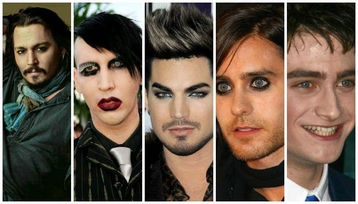 5 Seleb Pria yang Gemar Pakai Make-Up