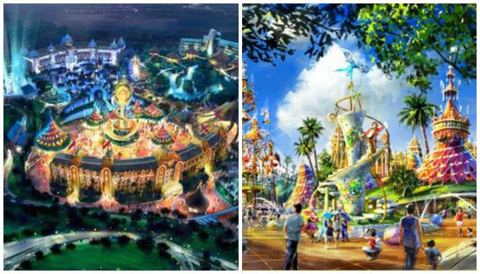 Saingan Disney, Ini Taman Rekreasi Terlengkap di Dunia