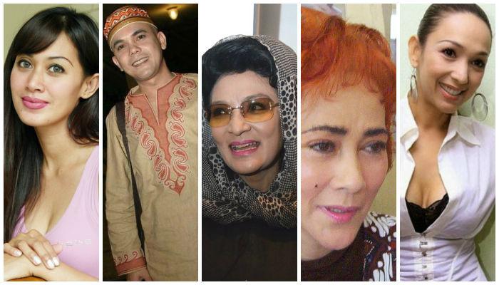 5 Artis Horor Indonesia dengan Fakta Seramnya