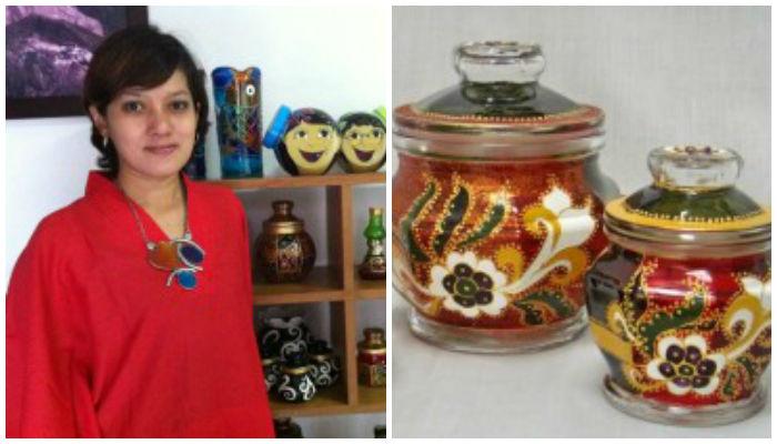STORY: Berawal dari Barang Bekas, Wanita Ini Jadi Perajin Lukisan