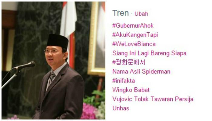 Ucapkan Selamat, Netizen Buat Hastag #GubernurAhok di Twitter