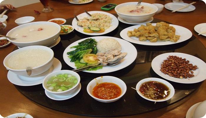 Bubur Kwang Tung, Campuran Bubur dan Seafood