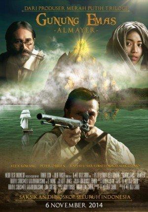 Poster film Gunung Emas Almayer