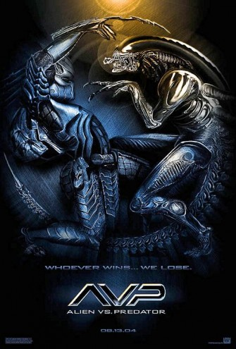 Poster film Alien Vs Predator