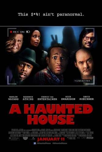Poster film A Haunted House