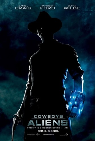 Poster film Cowboys Vs Aliens