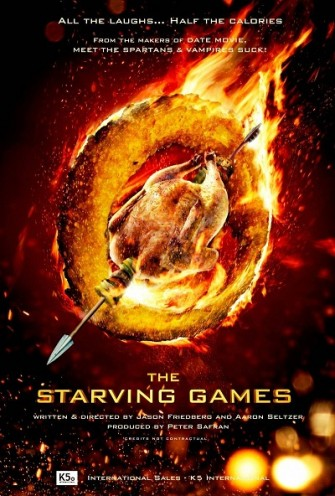 Poster film The Starving Games