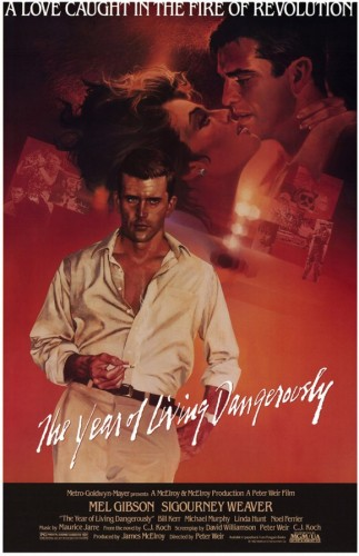 Poster film The Year of Living Dangerously