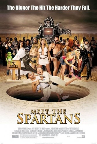Poster film Meet The Spartans