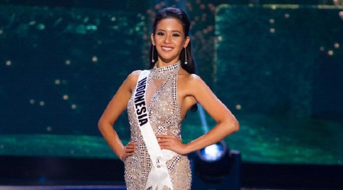 Kostum Elvira Devinamira Jadi No 1 di Miss Universe