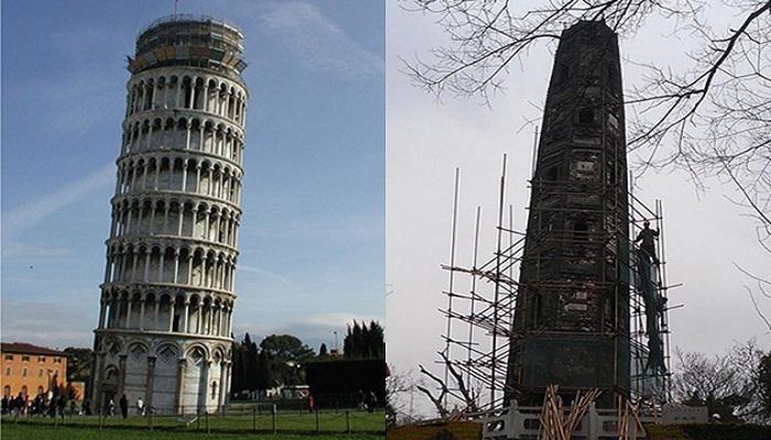 Ternyata Ada yang Lebih Miring dari Menara Pisa
