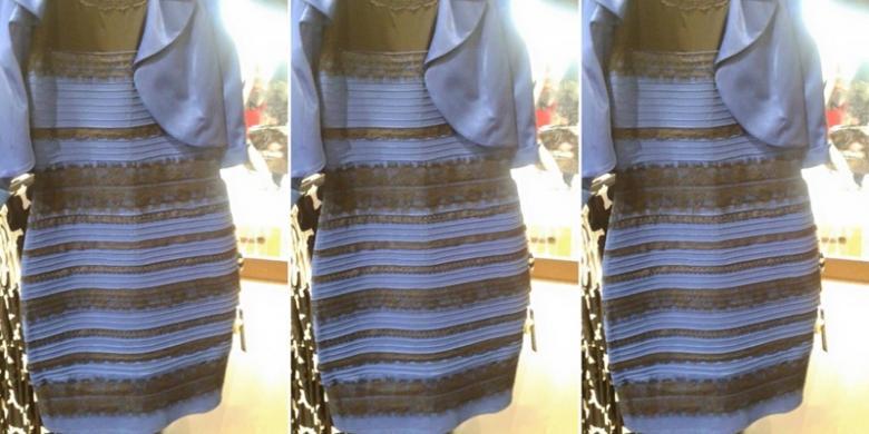 Perdebatan 'Panas' Warna Dress Ini Jadi Berita