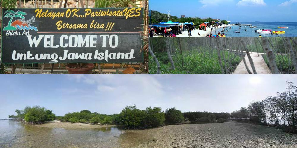 Pulau Untung Jawa, si Pembawa Hoki Tetangga Jakarta