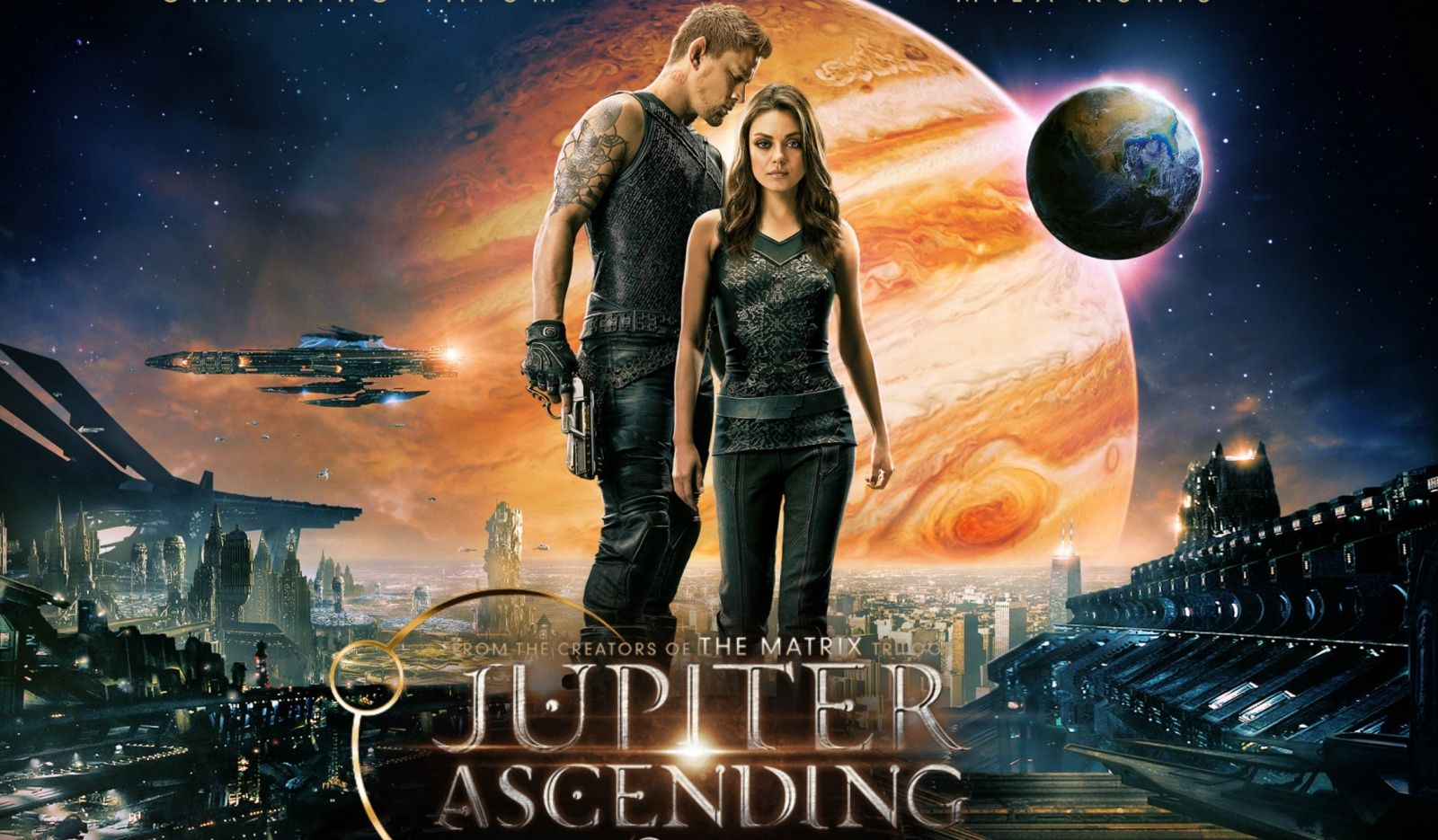 Review: Film 'Jupiter Ascending'