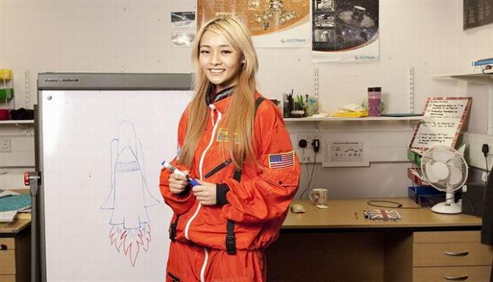 Mahasiswi Ini Ingin Melahirkan di Mars