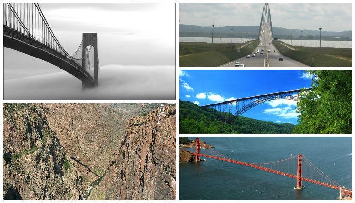 5 Jembatan Tertinggi di Dunia