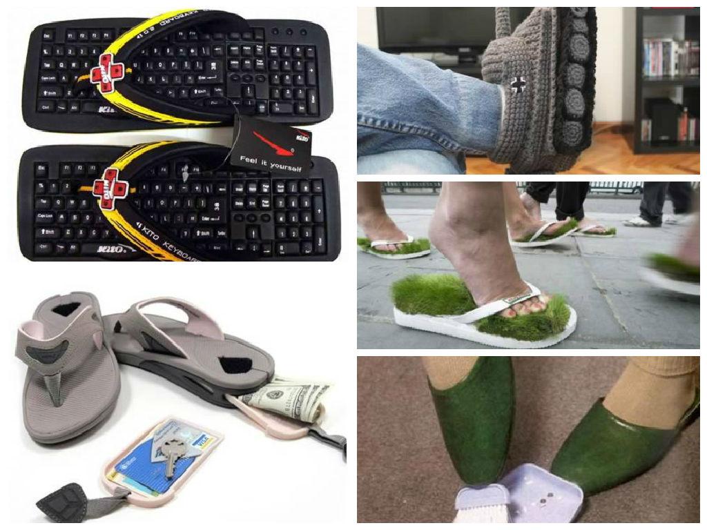 5 Sandal Paling Aneh Sejagat Raya
