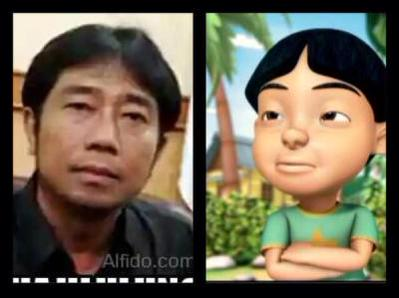 Haji Lulung disebut netizen mirip Mail (@qriwstal)