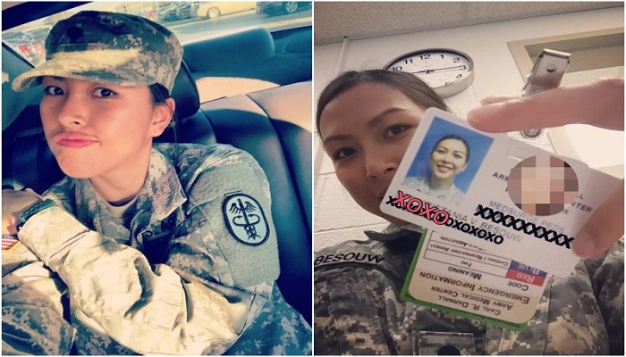 Mengenal Kristy, Tentara Wanita AS Asal Indonesia