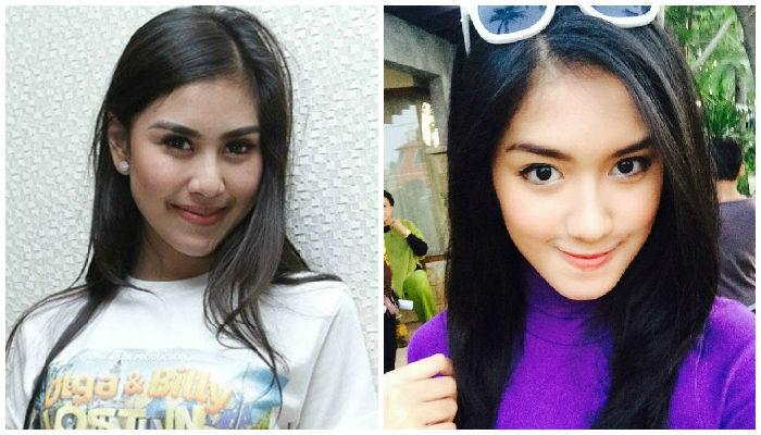Syahnaz Sadiqah-Ochi Rosdiana Pose Bareng, Cantik Mana?