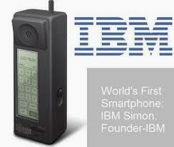 IBM Simon (Oshamait Blogspot)