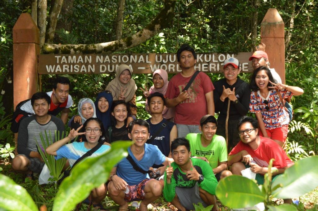 Taman Nasional Ujung Kulon, bersama teman-teman opentrip