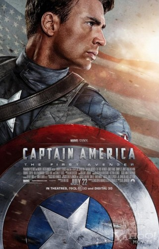 Poster film Captain America: The First Avenger (Moviexplorers)