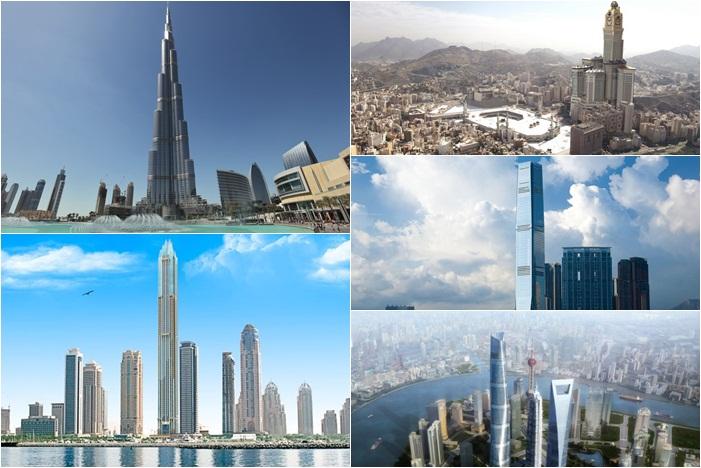 Gedung-gedung Tertinggi di Dunia