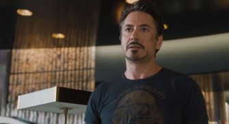 Tony Stark pakai baju Black Sabbath (Keepo)