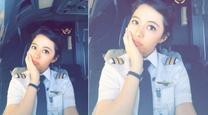 Pilot Cantik Termuda Indonesia