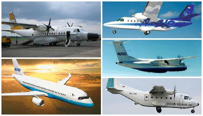 5 Pesawat Terbang Buatan Indonesia yang Mendunia