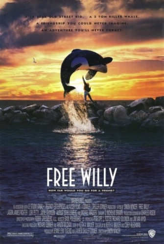 Poster film Free Willy (Muvila)