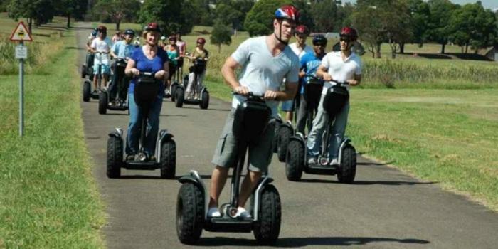 Segway, Transportasi Unik untuk Hindari Kemacetan